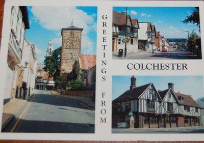 Postcard #39 - England